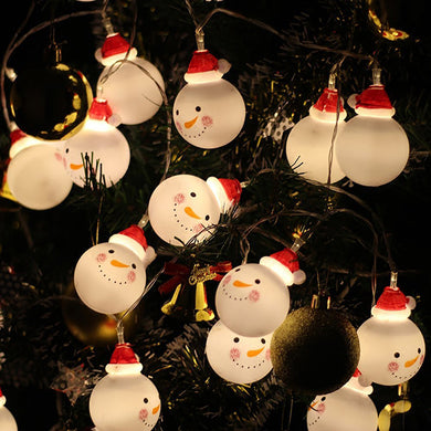 1.5M 3M snowman led string lights home garden Christmas decoration light