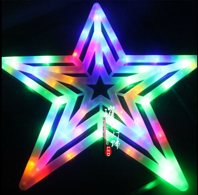 50CM Star LED Pendant Lights Christmas Waterproof Outdoor Indoor  Holiday Garland light Decor