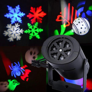 Outdoor Snowflake Laser LED Landscape Garden Holiday Projector moving 2 pattern Christmas Decoration