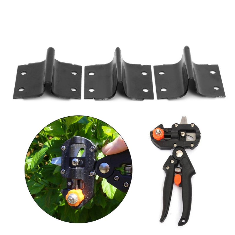 3Pcs/set U/V/Omega Type Steel Blades for Garden Grafting, Pruning, and Cutting Tool