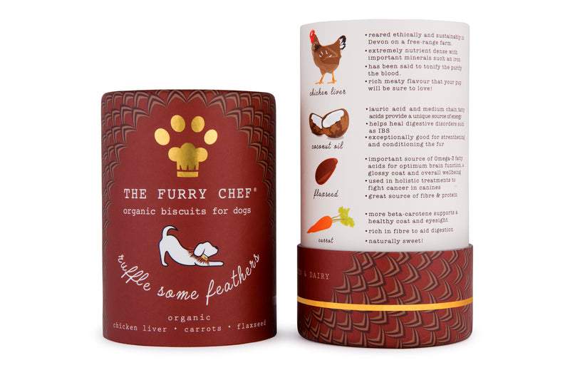 """Ruffle Some Feathers"" Organic Chicken Liver Treats"