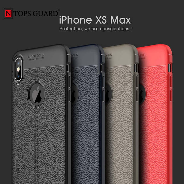 Auto Focus Case For iPhone XS MAX Silicone Soft TPU