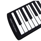 Flexible Piano 61 Keys Electronic Piano Keyboard Silicon Roll Up Piano