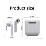 LK-TE8 Wireless Bluetooth Headphones QI Wireless Charging SiRi Touching Button earbuds Bluetooth 5.0 smart Headsets for iphone X Samsung