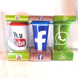 Social Media Apps Printed Premium Ceramic Mugs