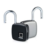 Fingerprint Padlock, Waterproof Padlock - USB Rechargeable - Superior Strength - LED Indicator - Opened up to 2500 Times - for Door, Cabinet, Backpack, Cargo, Bike, Luggage