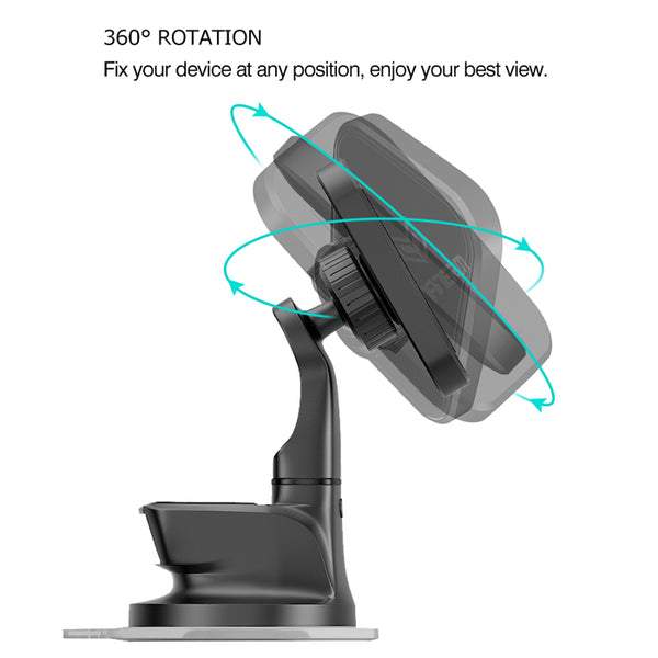 Strong 6 Magnet Suction Cup Magnetic Phone Holder Car Mount