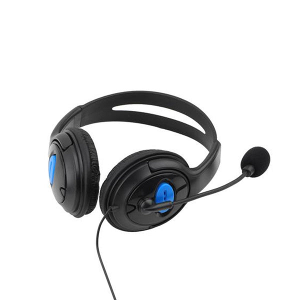Wired Gaming Headset Headphones with Mic for Sony PS4 PlayStation 4 - Black