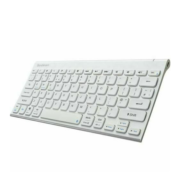 Sandstrom Bluetooth Superslim Wireless Keyboard with Media Keys