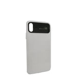 Rubber Silicone Cover for iPhone X/Xs