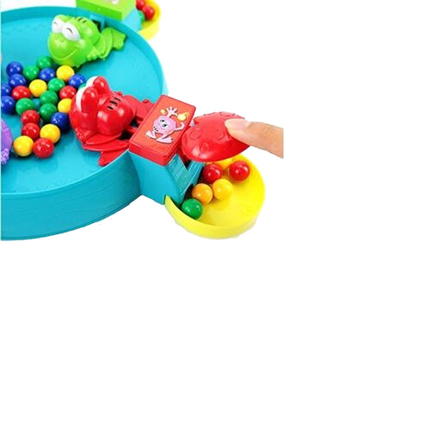 Feeding Frog Game, Rob Bead Children's Ball Bean Toy Leisure Manual Entertainment Ball Sprouting Child Baby