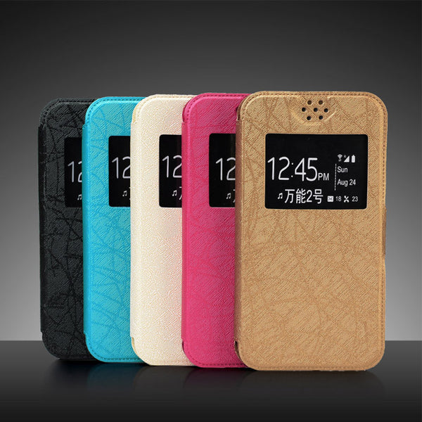 Universal Flip Leather Silicon Phone Cases For ALL MOBILE PHONES 4.5INCH TO 6.0INCH