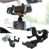 UNIVERSAL Car Rear View Mirror Mount Holder
