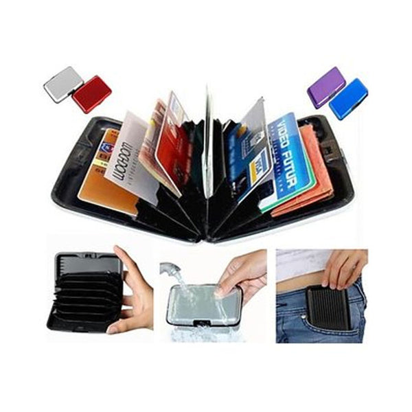 Security Aluminium Credit Card Wallet