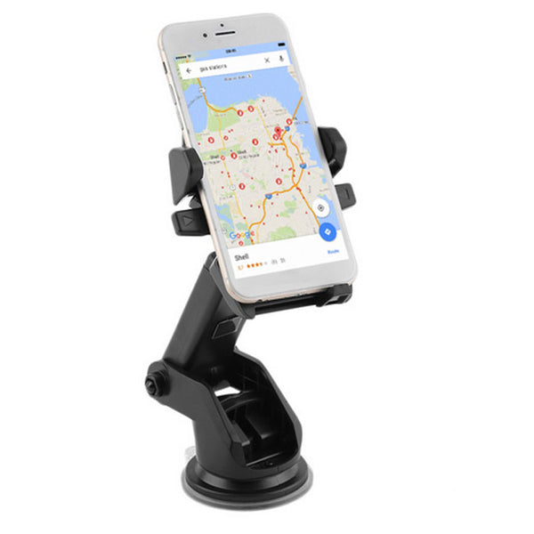 Long Neck One-Touch Car Mount