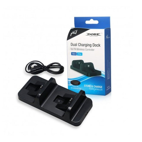 Dobe Dual PS4 Controllers Charging Dock