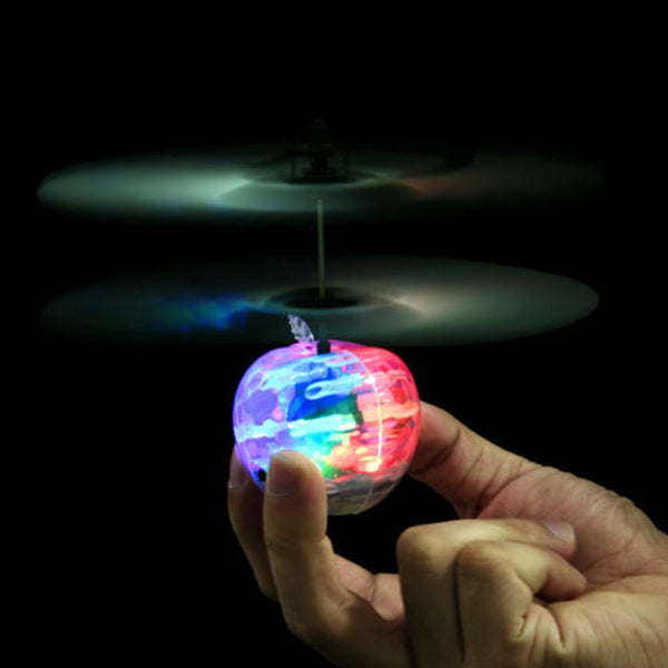 Fly Ball Infrared Induction Aircraft Flash LED Light