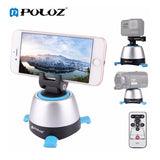 PULUZ Electronic 360 Degree Rotation Panoramic Head with Remote Controller for Smartphones, GoPro, DSLR Cameras