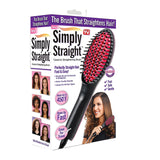 Straight Ceramic Hair Straightening Brush