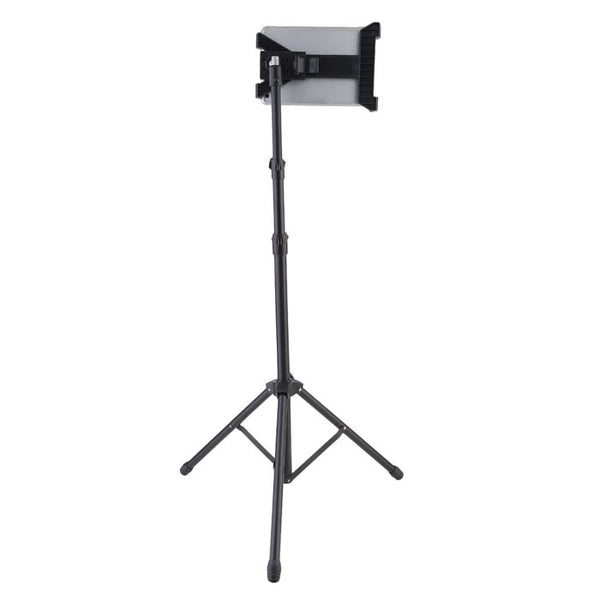 Universal Tripod Mount Floor Stand for ipad and 7-13 Inch Tablet PC, Height Adjustable 360 Rotating Tablet Tripod Stand Mount
