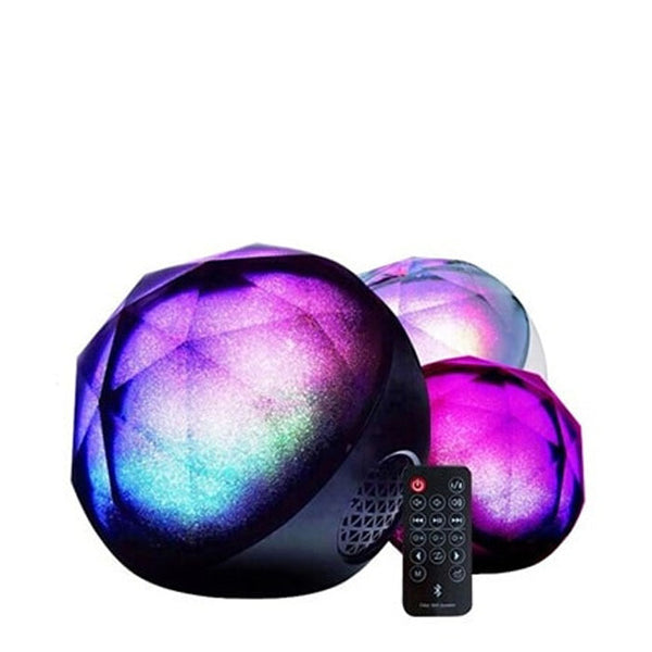 color ball speaker bluetooth with remote control q8