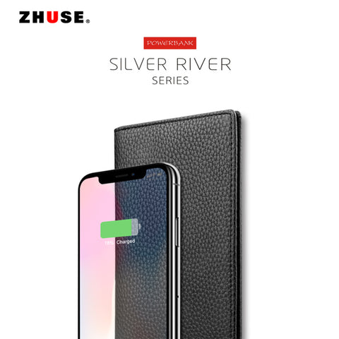 ZHUSE SILVER RIVER SERIES POWER BANK(PU)