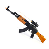 toy guns Rifle electric toy gun electric toy gun acoustooptical ak47 infrared vibration
