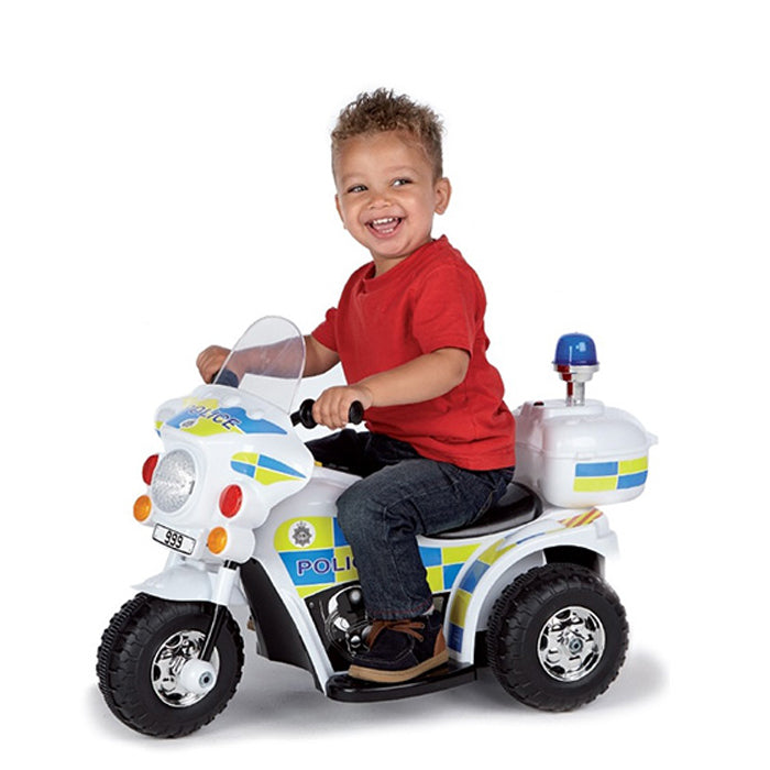 Rechargeable Motor Bike Kids Ride On Toys Police Motorcycle