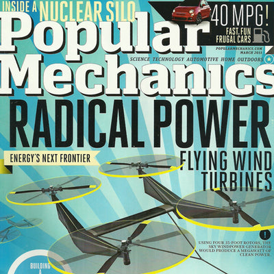 Lewis Winch featured in Popular Mechanics