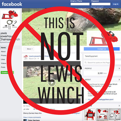This is NOT Lewis Winch