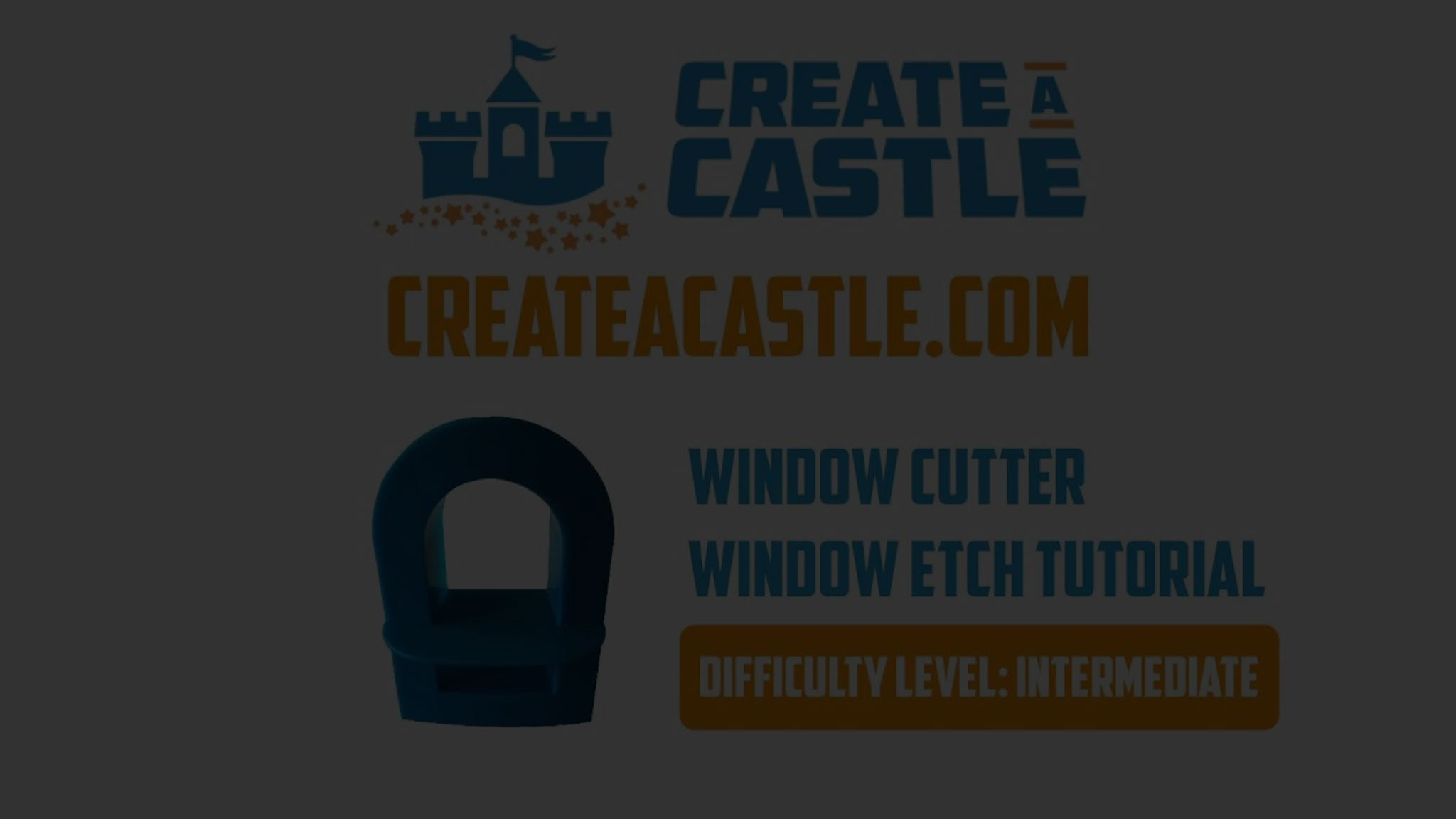 Create A Castle Window Cutter Tutorial – Cutting the perfect window on your sand castle