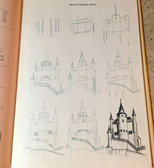 Draw 50 Book Castle Example