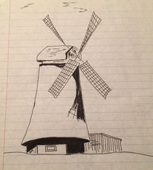 Draw 50 Windmill Example