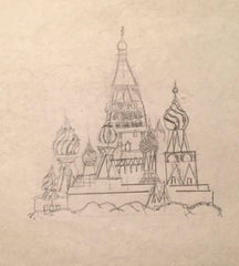 Draw 50 Russian Towers Example