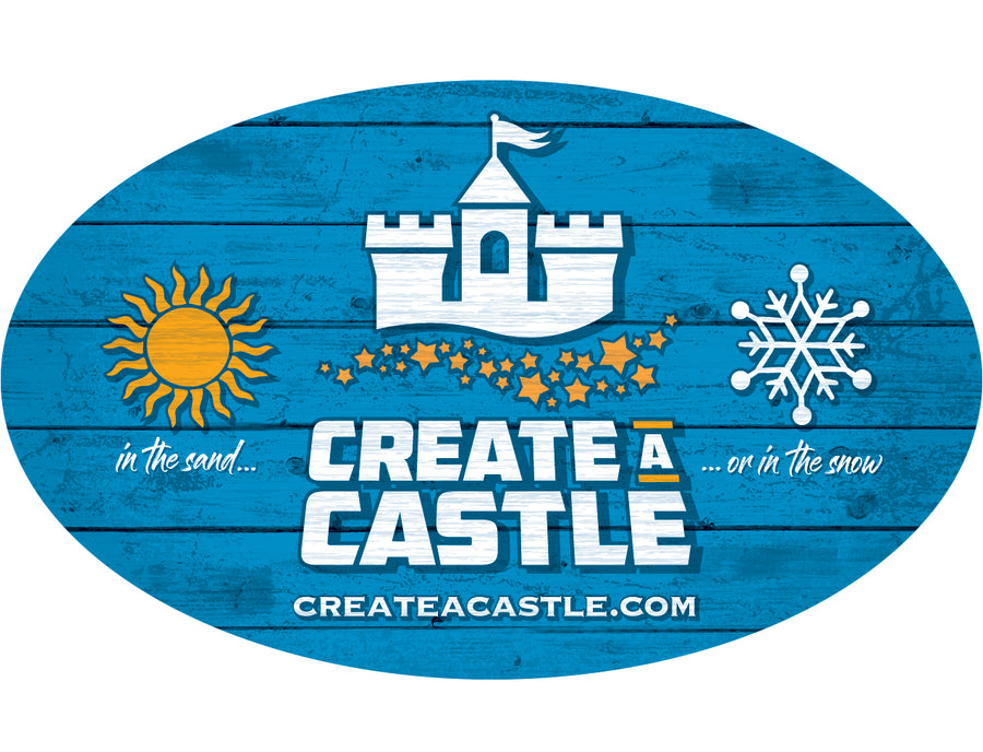 Create A Castle Window Sticker