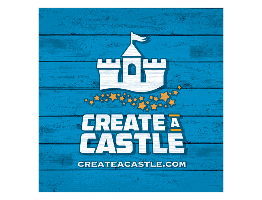 Create A Castle Square Sticker