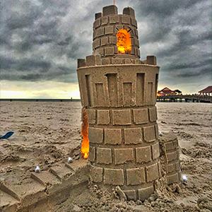 Sand & Snow Castle Kit - Pro Tower Kit With Lights