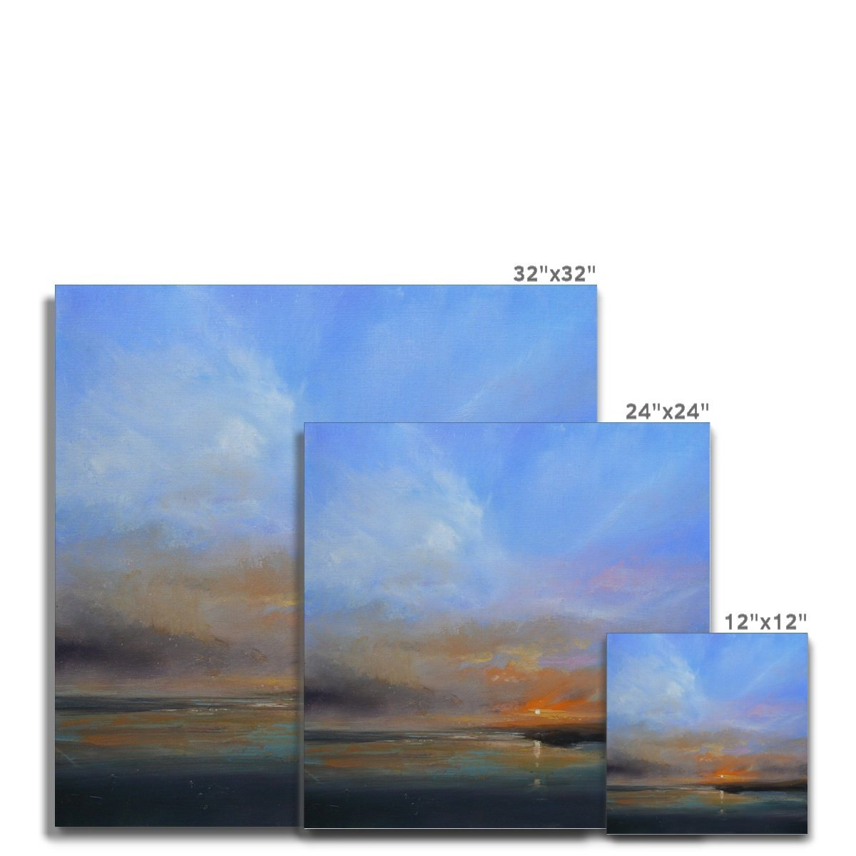Deep Stretched Canvases (unframed)