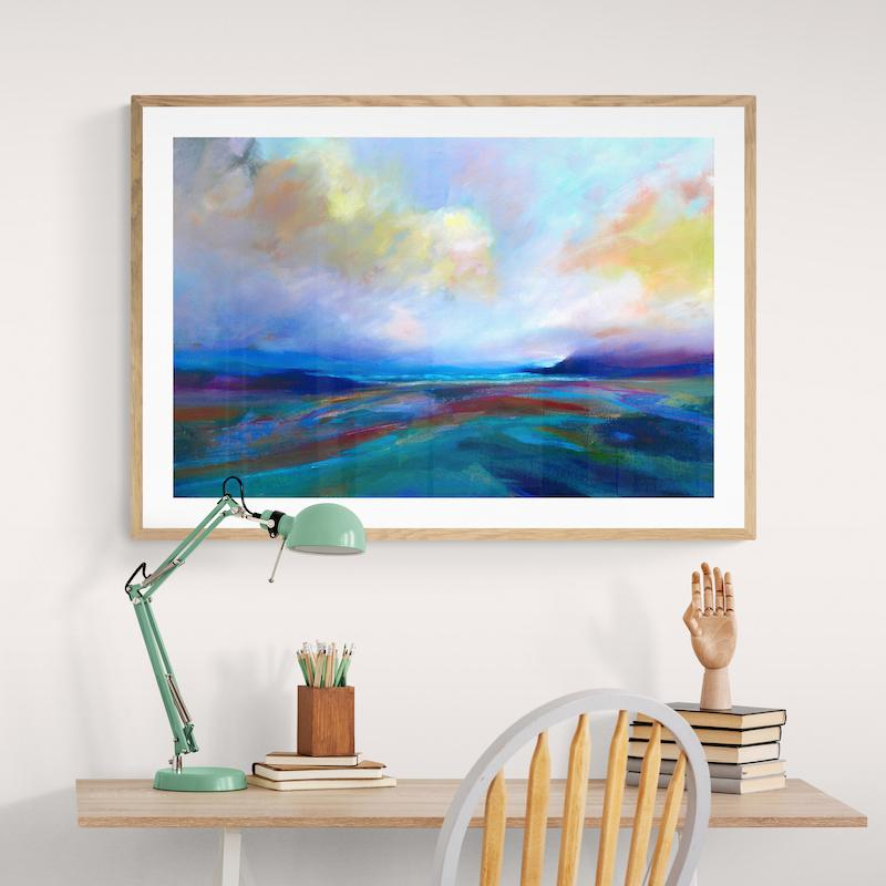 Framed fine art prints