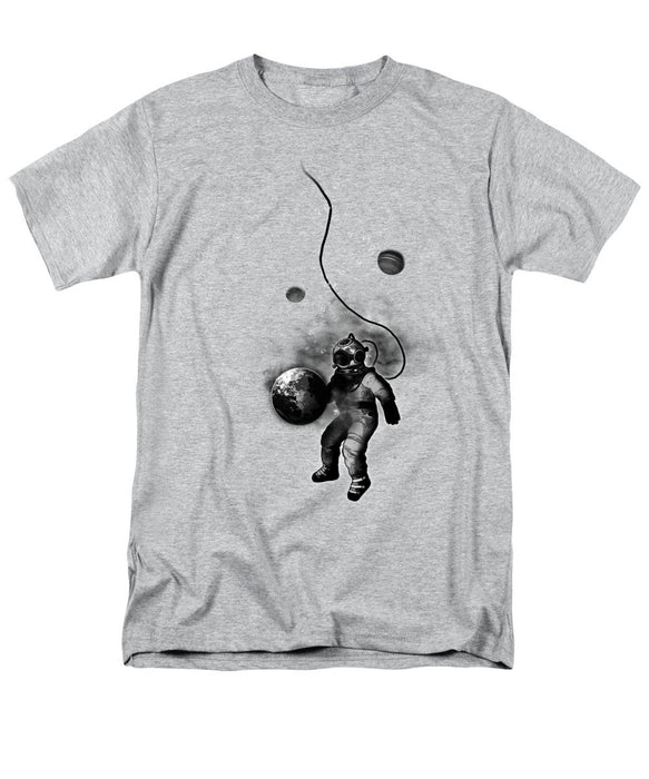 Deep Sea Space Diver Men's T-Shirt  (Regular Fit) - World Fashion Emporium