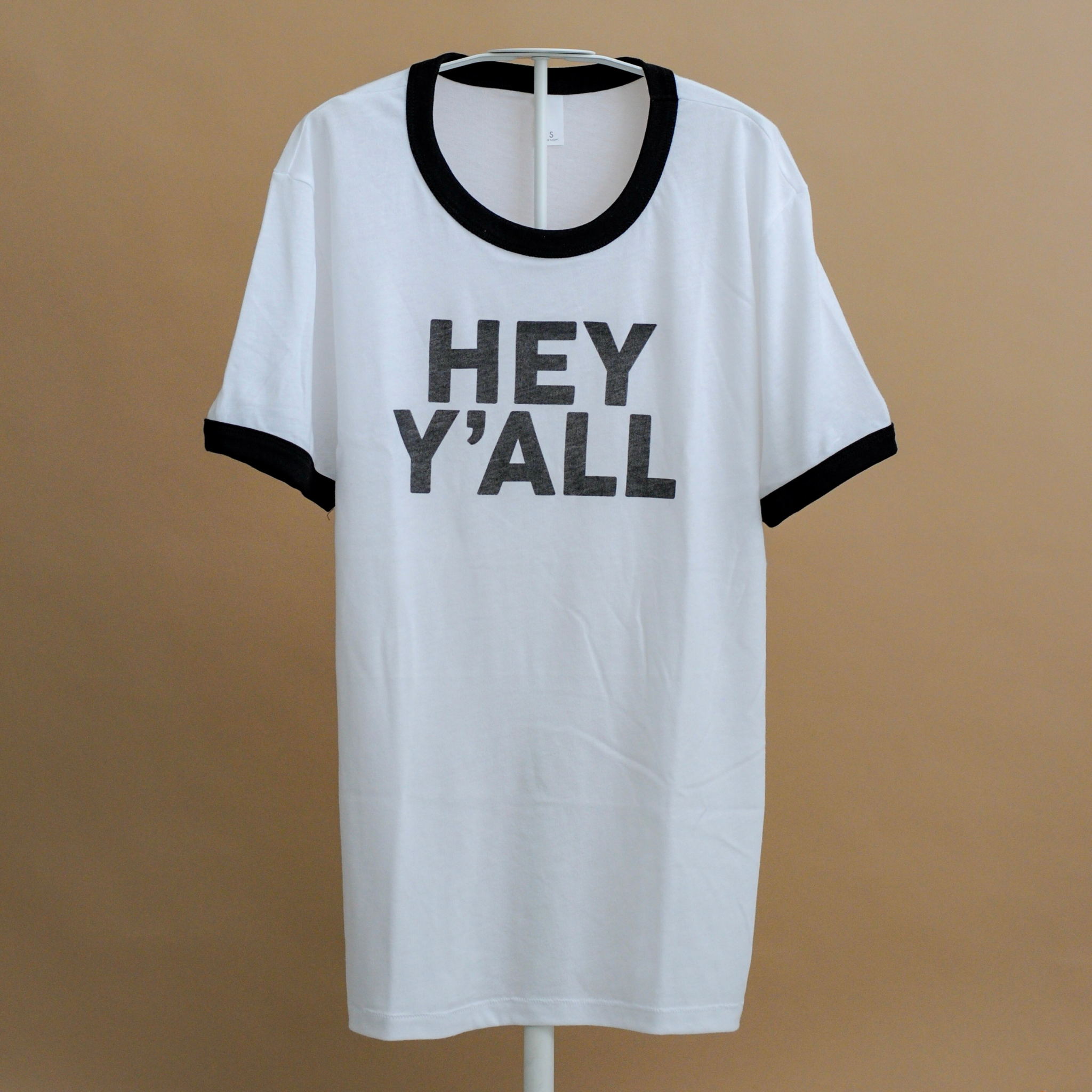 Hey Y'all Youth Ringer Tee from Honey Darling Company