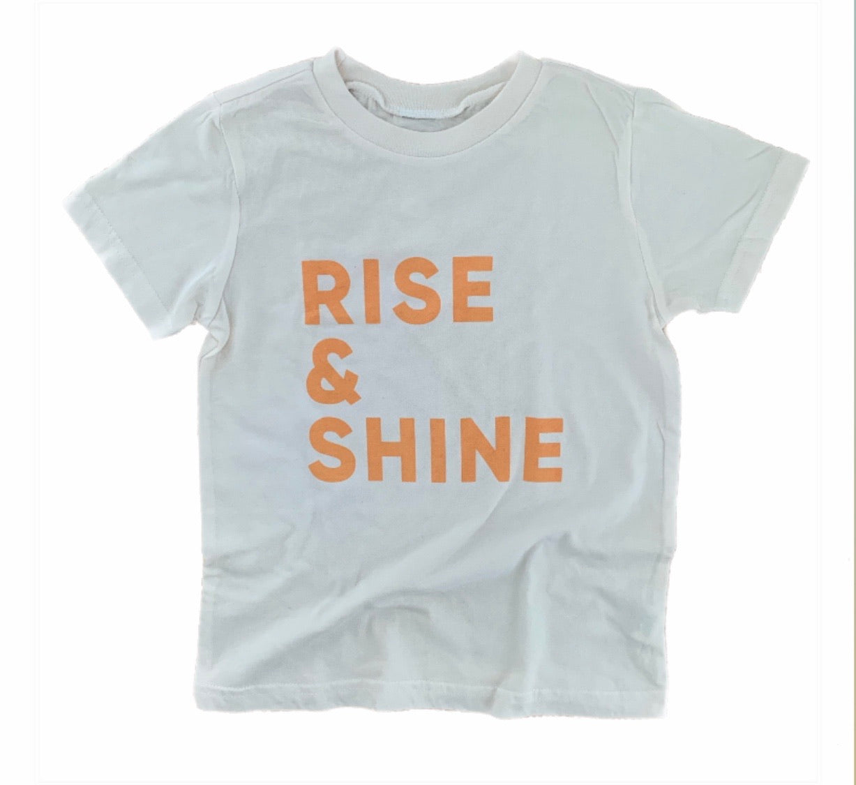 Rise and Shine kids tee from Honey Darling Company