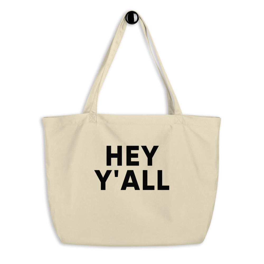Hey Y'all Tote