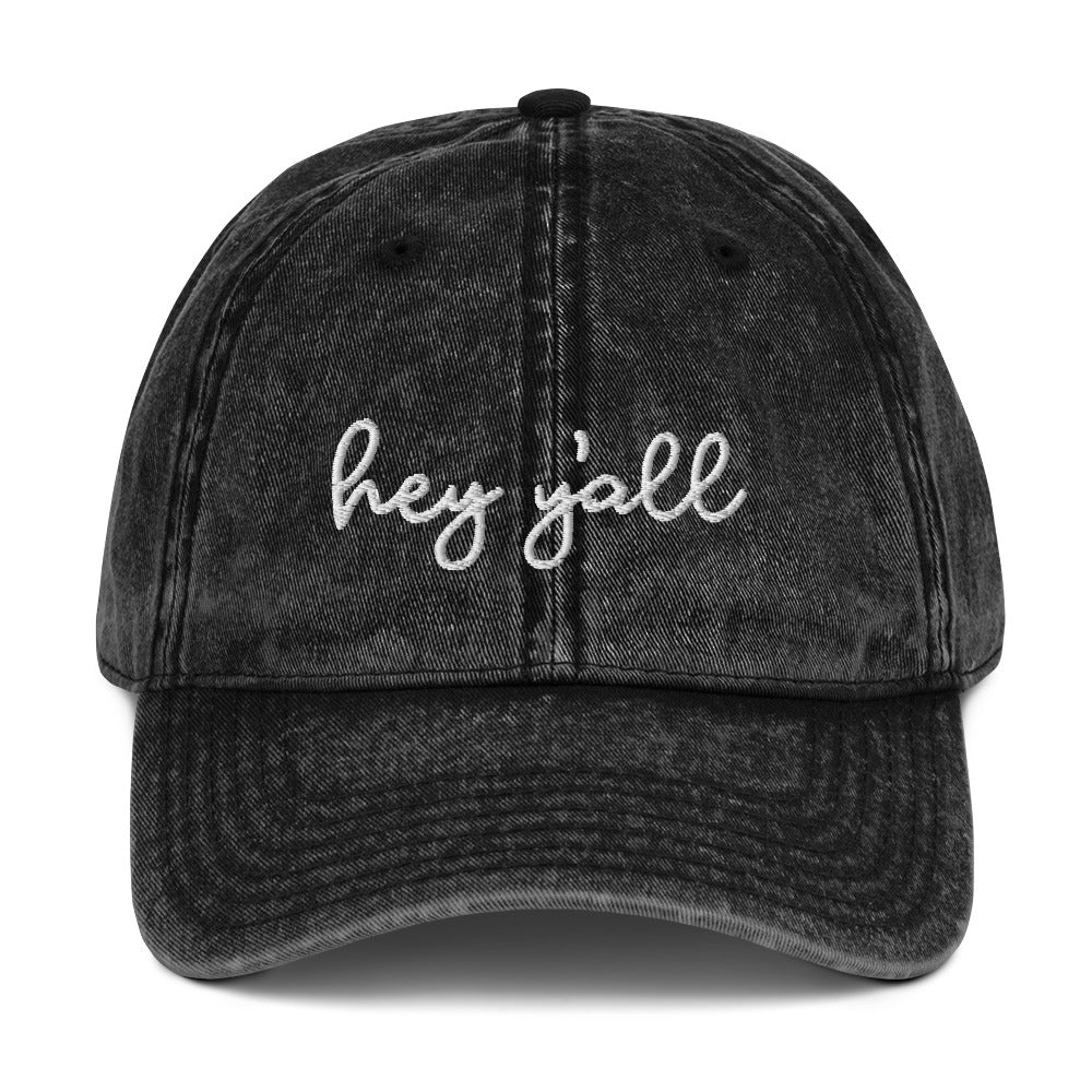 Hey Y'all | Vintage Dad Hat