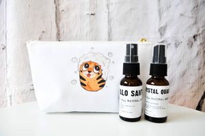 Tiger Bath Makeup Bag