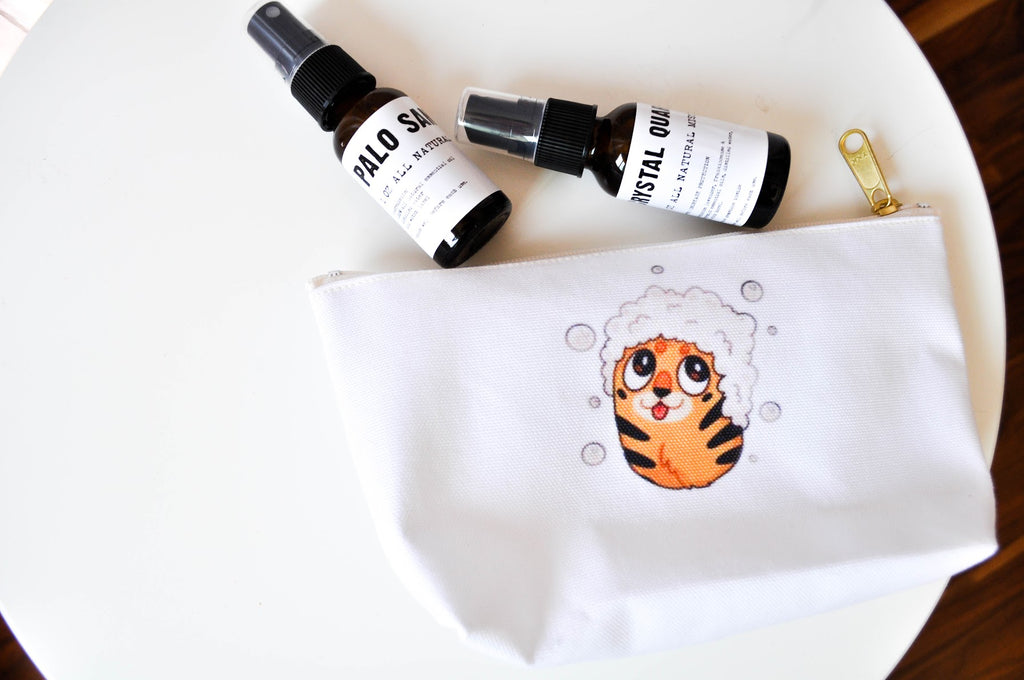 Tiger Bath Makeup Bag.