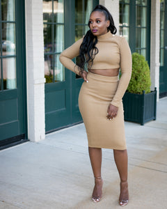 Brown Sugar Skirt Set