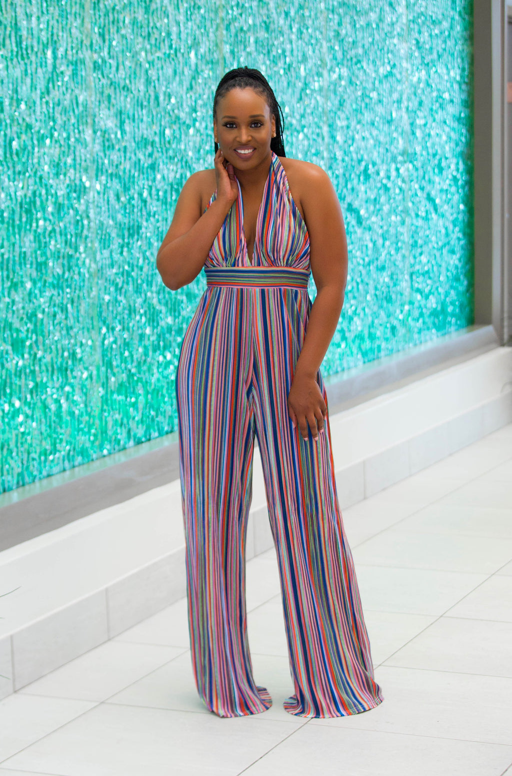 Show Me Something Halter Jumpsuit