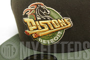 Detroit Pistons Mocha Brown Olive Drab Bone Beige White Copper Sail New Era Fitted Hat