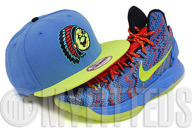 Peoria Chiefs Lakeshore Slate High Voltage Evolution KD V Christmas Matching New Era Snapback Hat